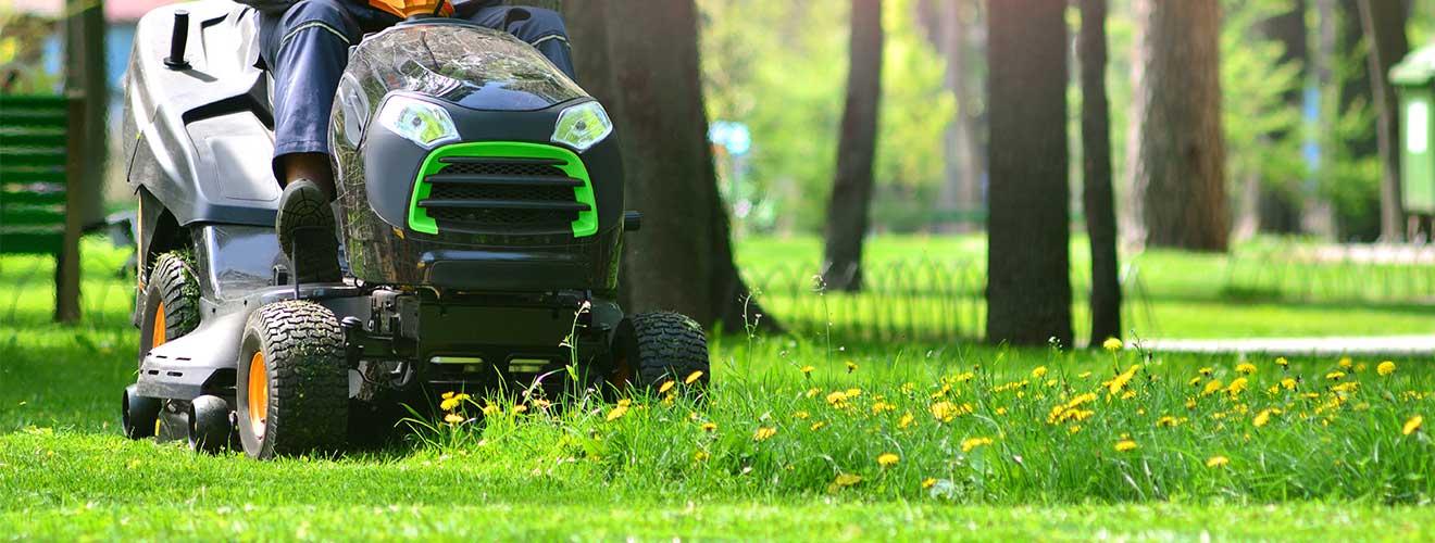Grünanlagenpflege
